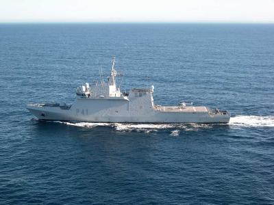 El buque Meteoro zarpa de Las Palmas para combatir la piratería en el Índico