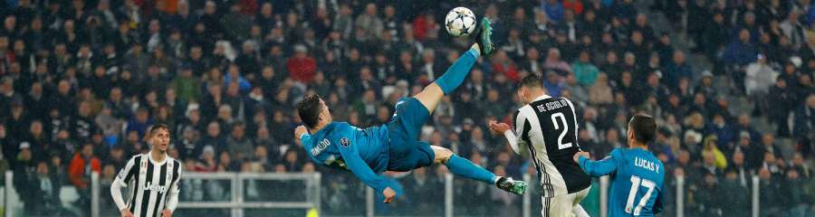0-3. El Madrid conquista Turín con 'chilena' para la leyenda de Cristiano