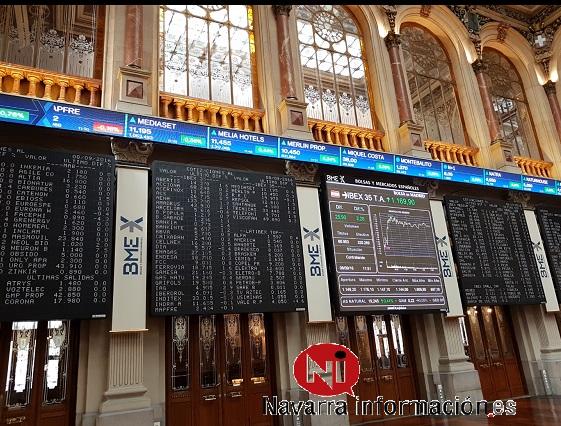 El IBEX sube un 0,03 % pendiente de los presupuestos de Italia