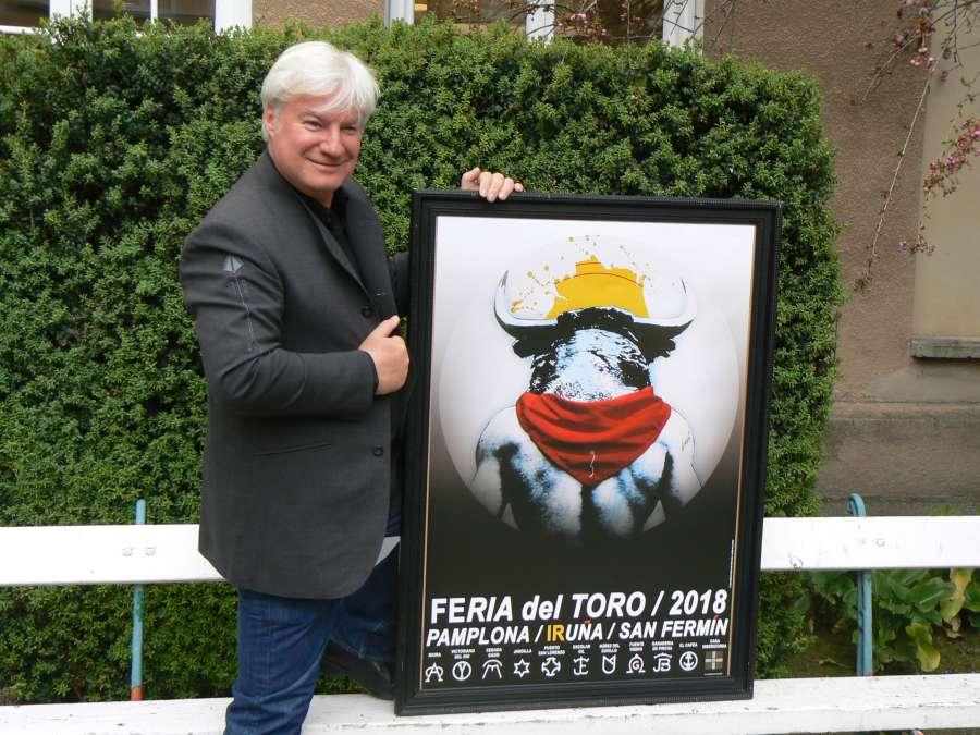 Arte sobre arte, el cartel de la Feria del Toro 2018 de Pamplona
