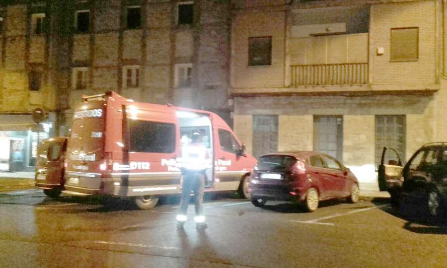 La Policía Foral imputa a seis conductores en los últimos días