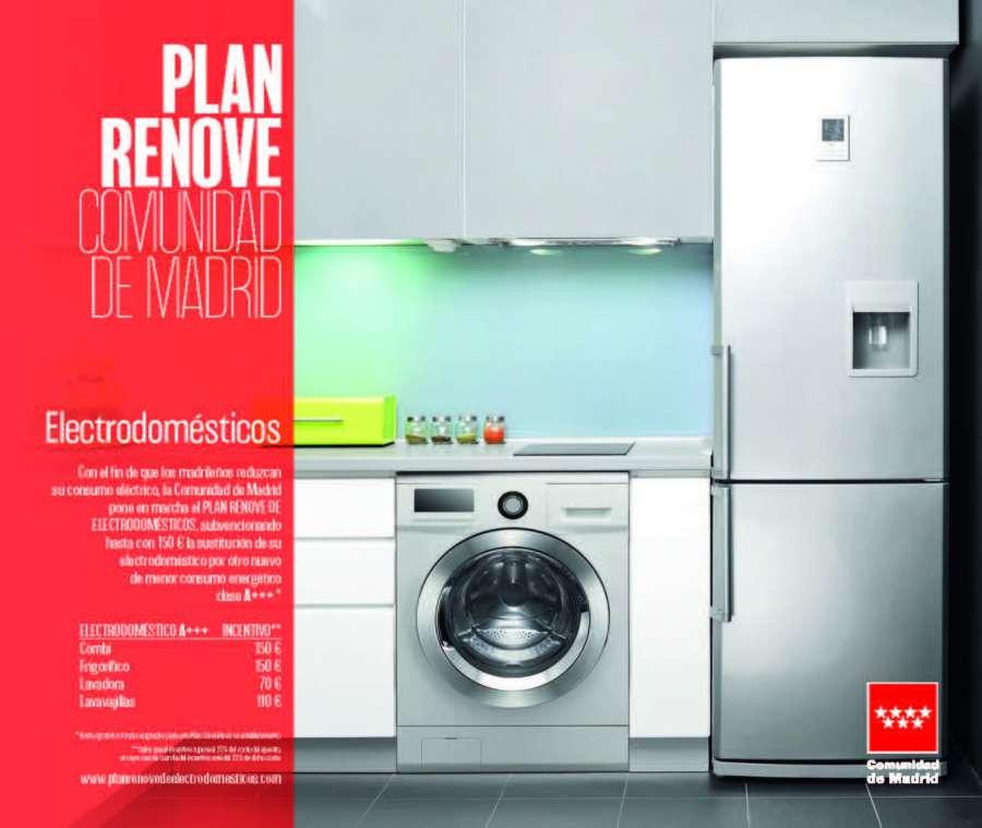 Cerca de 3 millones de euros para cambiar de electrodomésticos en la Comunidad de Madrid