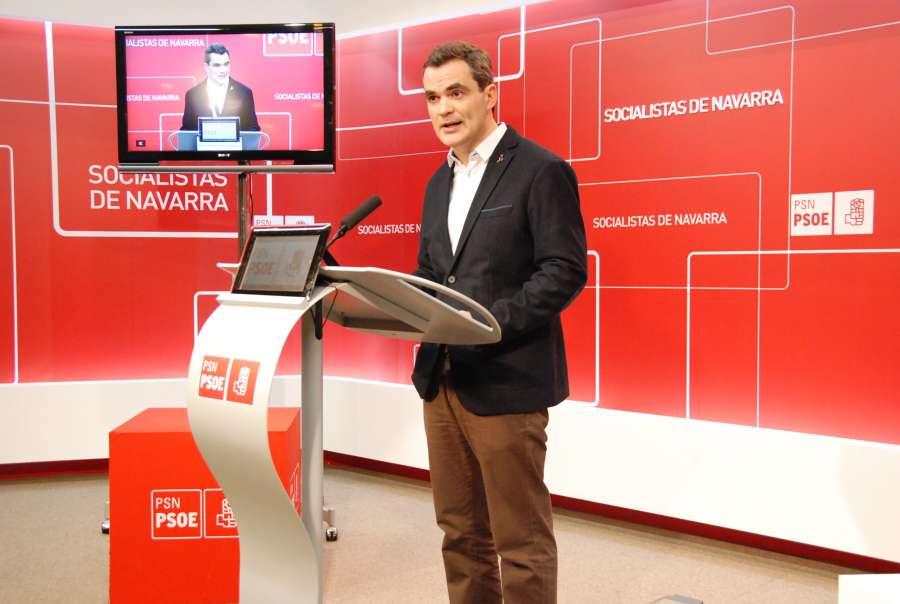 El PSN critica la irresponsabilidad de Ayerdi por el recorte de inversión en carreteras de Navarra