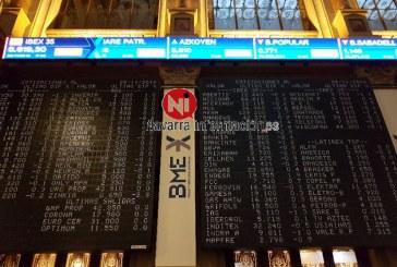 El IBEX 35 cierra con subida de 0,12 % y sigue sin recuperar los 9.000 puntos