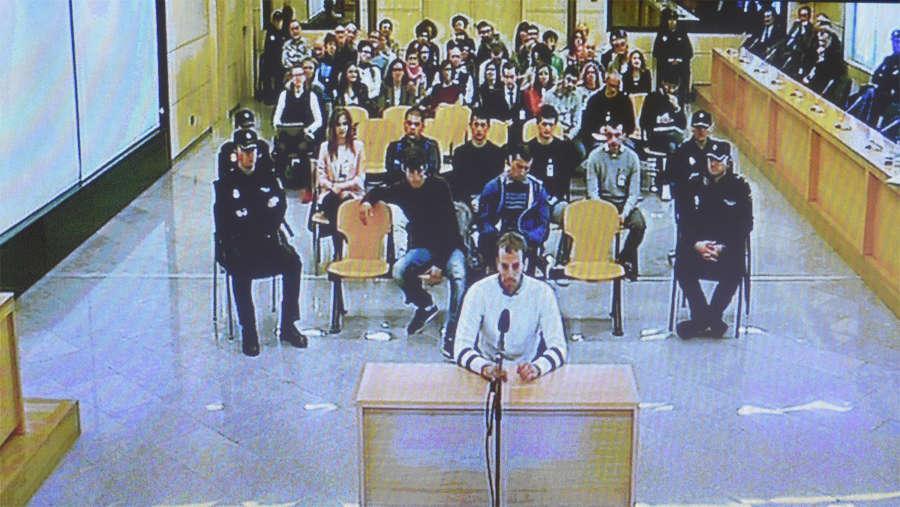 La Audiencia Nacional revisa hoy en una vista la sentencia de Alsasua
