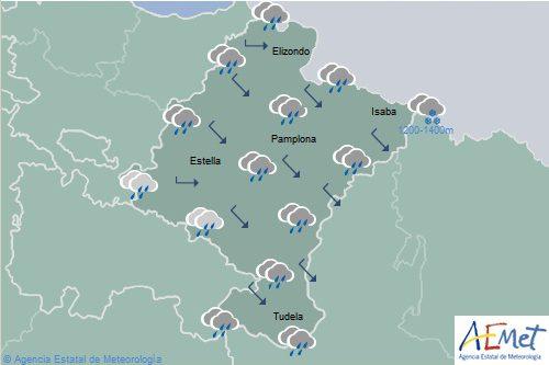El tiempo hoy en Navarra