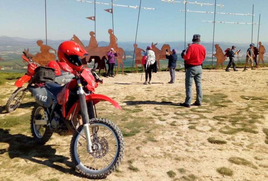 La Policía Foral pone en marcha el dispositivo especial del Camino de Santiago