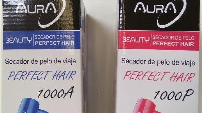 Alerta para retirar el secador de pelo Aura, que echa fuego al sobrecalentarse