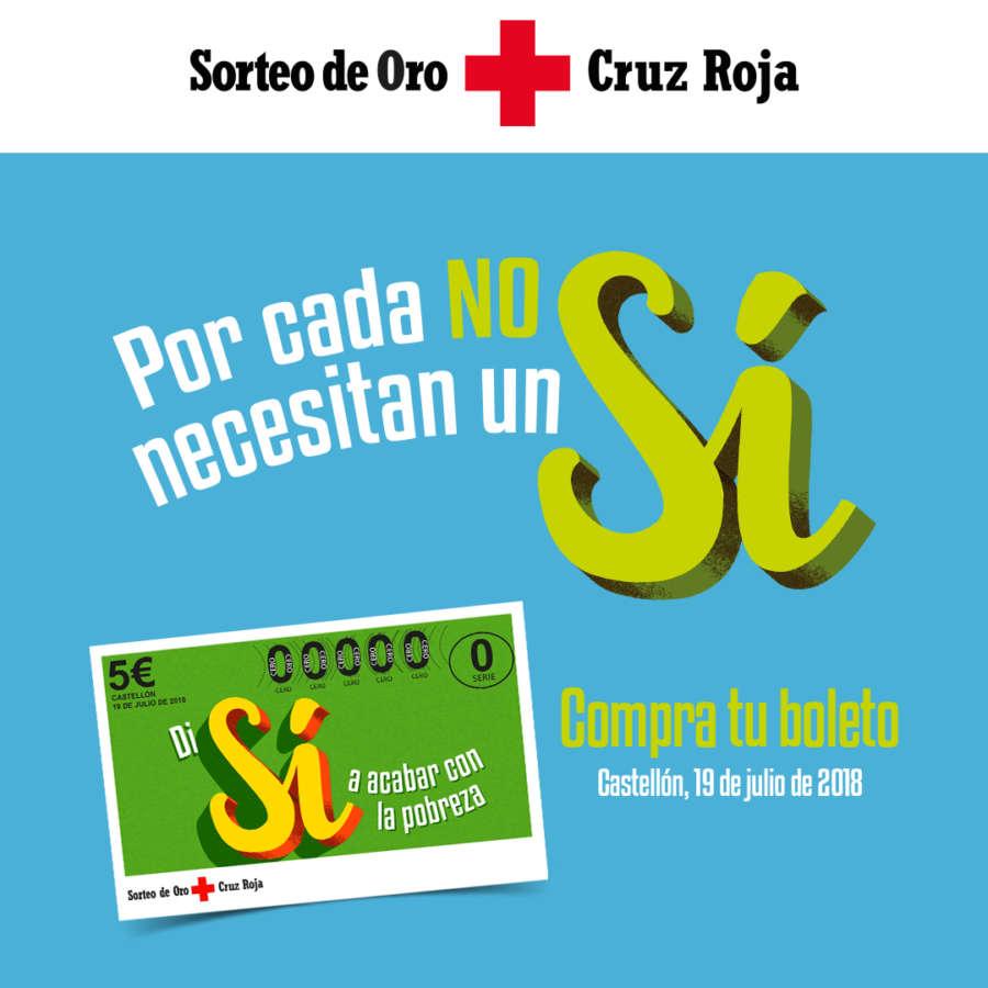 Vuelve el Sorteo que dice Sí a Cruz Roja