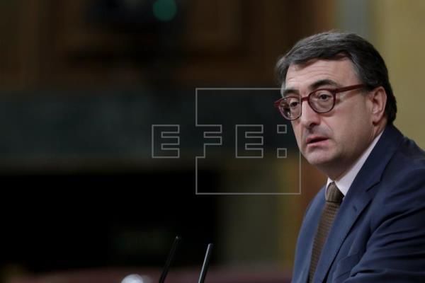 El PNV confirma en el pleno que apoyará la moción de censura contra Rajoy