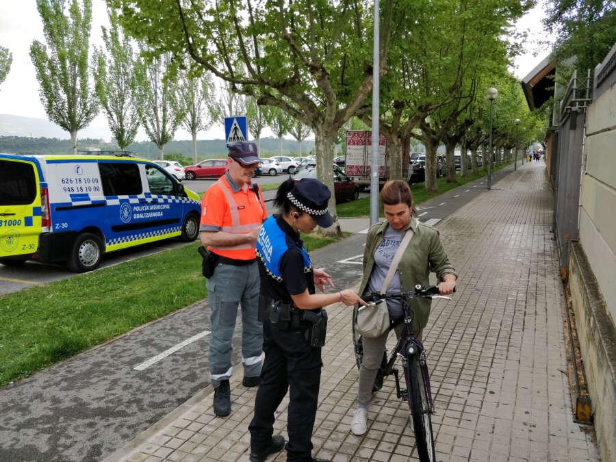 La policía municipal de Pamplona cobrará lo mismo que la Policía Foral