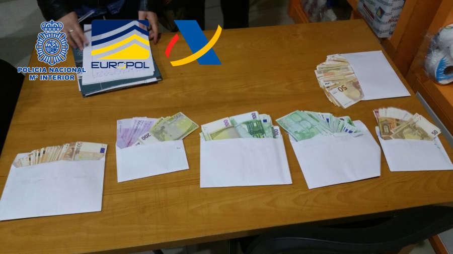 58 Detenidos en una operación que destapa un fraude de IVA de 60 millones