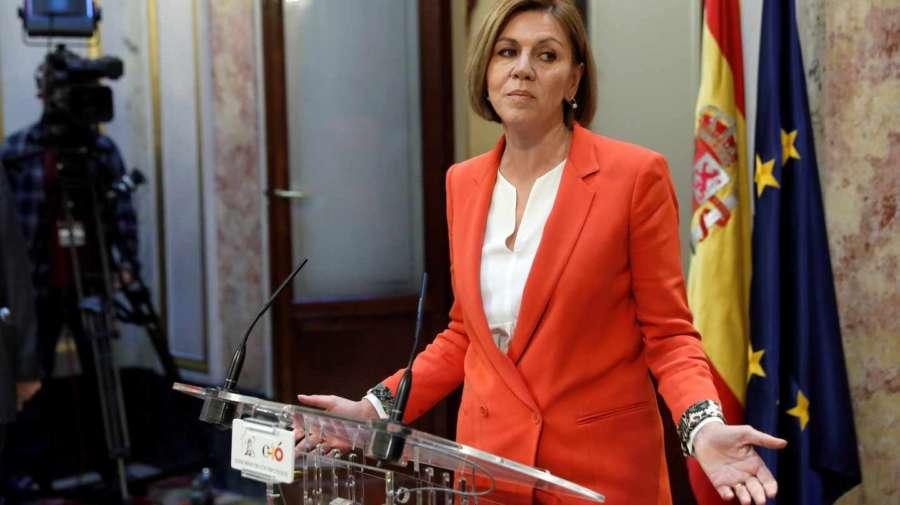 Cospedal: Rajoy no va a dimitir porque el PP no podría seguir en el Gobierno