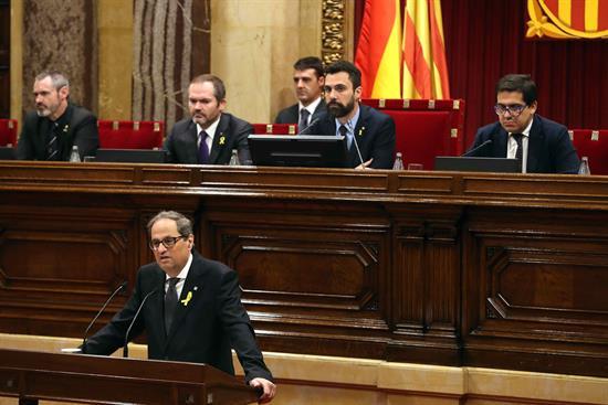 El 155 decaerá automáticamente cuando tome posesión el nuevo Gobierno catalán