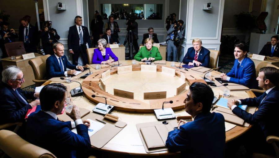 La Cumbre del G7 termina con acuerdos de mínimos tras arduas negociaciones