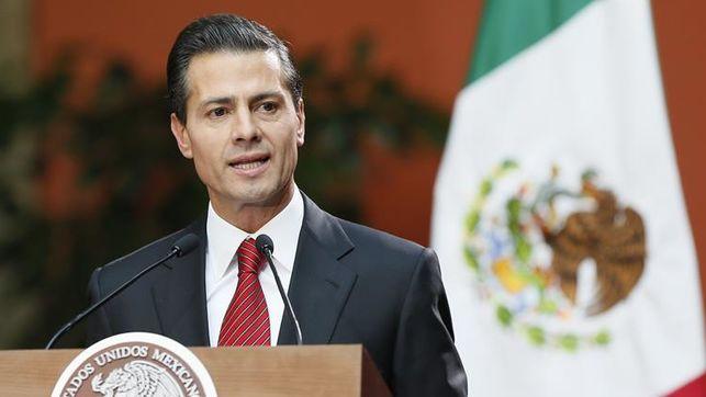 El presidente mexicano Peña Nieto dice que votar es rechazar la violencia