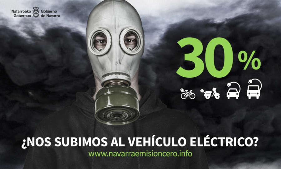 En 2017 crece la matriculación de vehículos eléctricos en Navarra un 82%