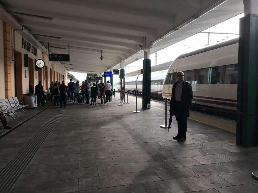 Fomento licita el estudio de la red ferroviaria en la Comarca de Pamplona