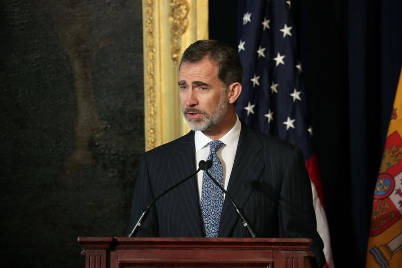 Felipe VI reivindica un mayor conocimiento de la herencia española en EE.UU.