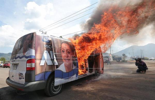 Democracia cede paso a violencia política