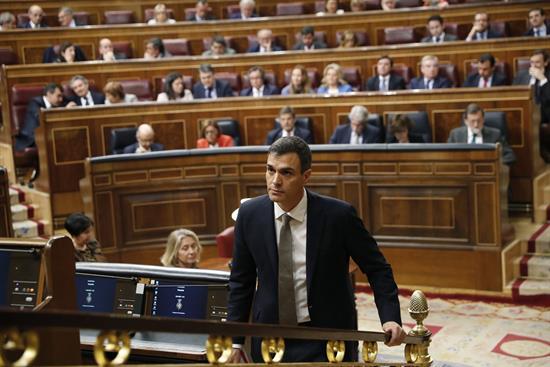 El Congreso vota hoy la moción de censura que hará presidente a Pedro Sánchez