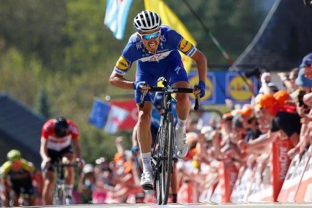 Alaphilippe también gana en Pirineos y Thomas mantiene el liderato