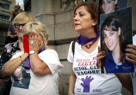 La madre de Nagore Laffage revive con La Manada el crimen de su hija