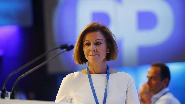 Cospedal deja el Comité Ejecutivo del PP pero mantiene su escaño