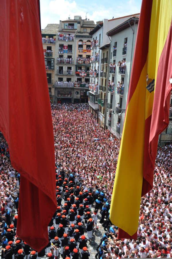El Ayuntamiento de Pamplona suspende el concurso de carteles de San Fermín
