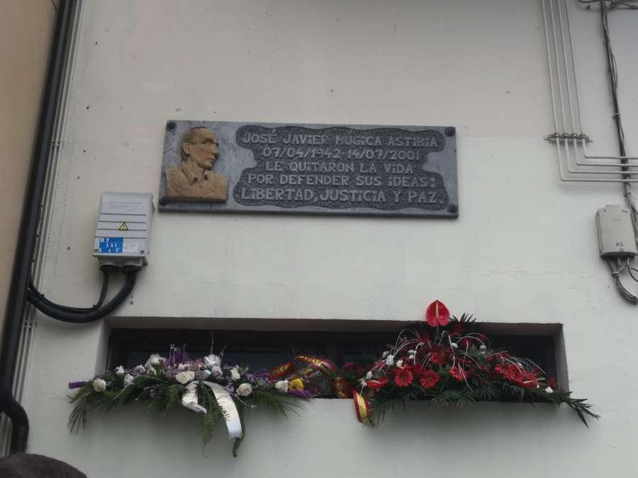 Se desconvoca el acto en memoria de José Javier Múgica asesinado por ETA en Leiza