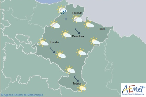 En Navarra temperaturas máximas en notable aumento