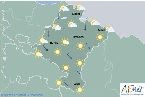 En Navarra se esperan temperaturas máximas de 36°