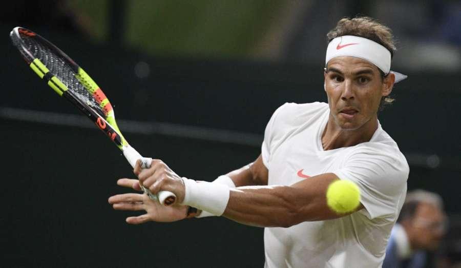 Nadal vence a Sousa y ya supera a Borg