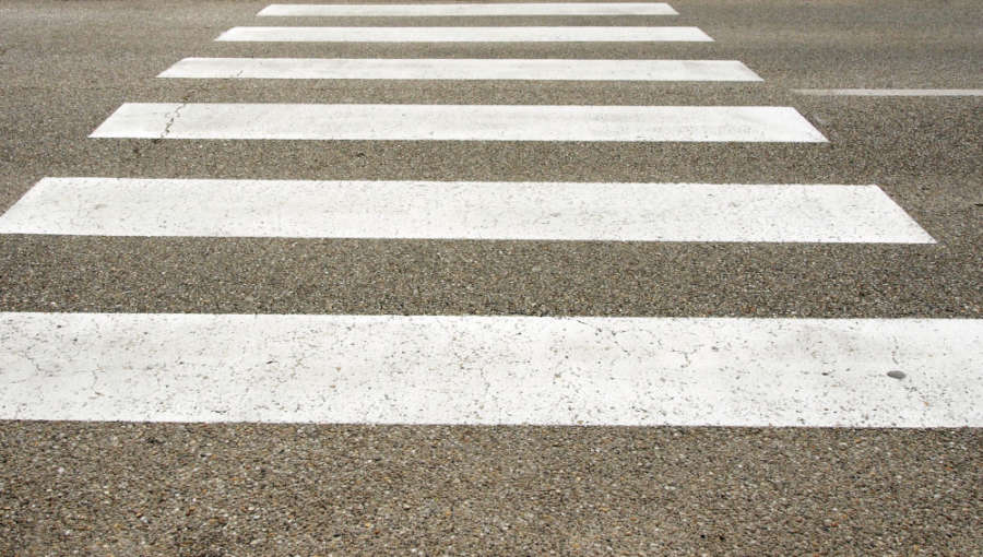 Herida una mujer atropellada en un paso de peatones de Ermitagaña