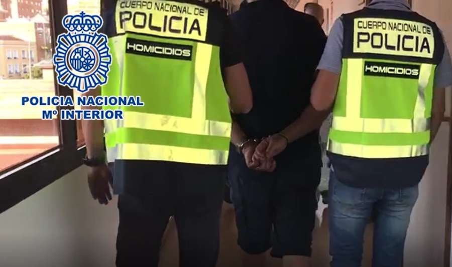 Dos detenidos en Vitoria por un robo con violencia cometido en Pamplona