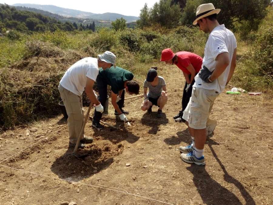 Excavaciones en la judería estellesa