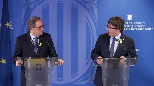 Puigdemont dice a Sánchez que tiene que