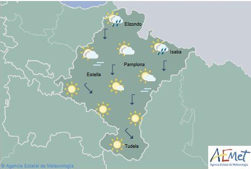 En Navarra temperaturas en notable descenso