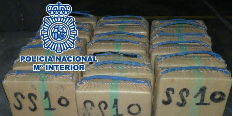 Incautadas siete toneladas de hachís a una red de narcos en la Costa del Sol