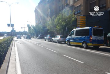 Interceptado cuando conducía por Pamplona con cuatro veces tasa de alcohol