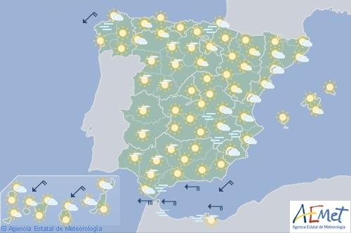 Alerta por calor en Andalucía, Castilla, Extremadura, Madrid y Orense