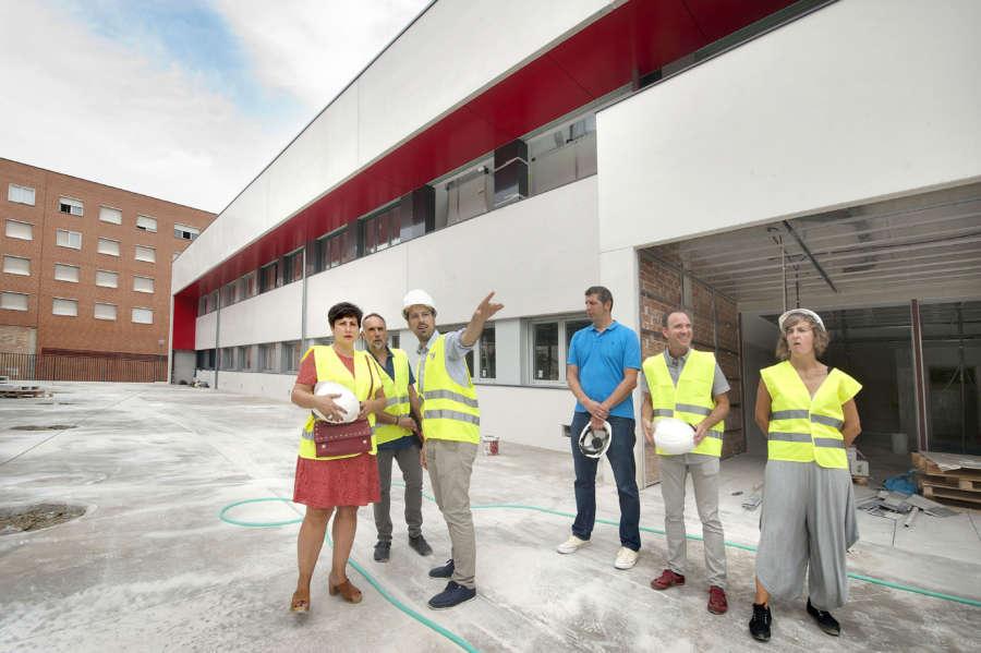 El nuevo instituto de San Jorge estará listo para empezar el curso