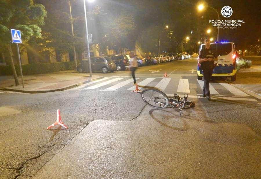 Pamplona registró 2.697 accidentes y 150 atropellos en 2019, un 3,11% más que el año anterior