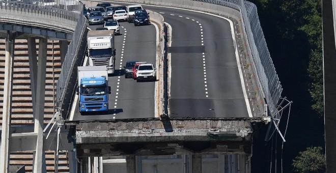 La fiscalía de Génova investigará el derrumbe del viaducto y teme