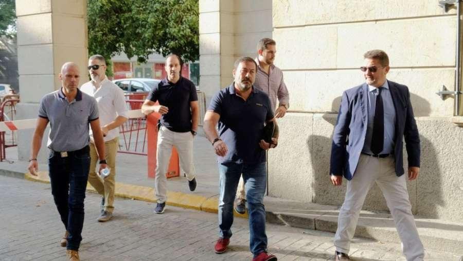 Los vigilantes ratifican el intento de atropello del miembro de la Manada tras robo