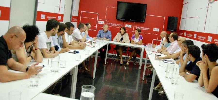 El PSN traslada a la Ministra Maroto las necesidades industriales para Navarra
