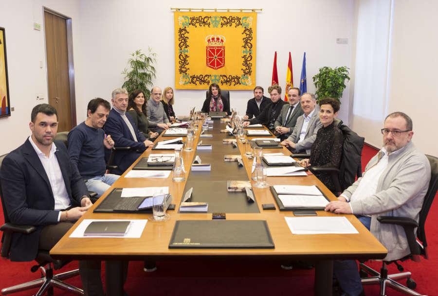 La Mesa estudiará el martes escrito de Podemos contra propuesta de Orain Bai