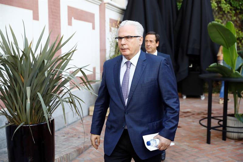 Garzón niega haber colaborado con Villarejo y ve una operación contra Delgado