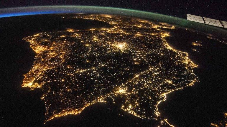 España está entre los países con mayor contaminación lumínica de la UE