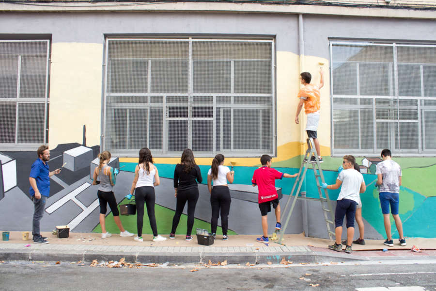 Muralismo como actividad social